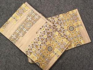 伝統工芸士 「足利忠義」作 彩織 袋帯