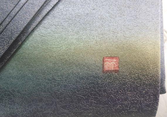 久保田一竹(工房) ぼかし袋帯