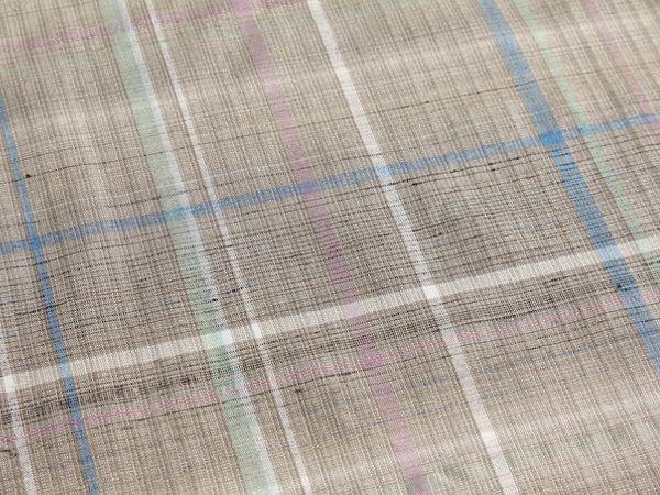 志村ふくみの紬織り訪問着
