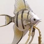 銀製置物魚3