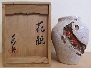 水月窯 花瓶