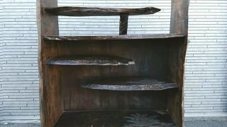 軽井沢彫り 違い棚