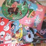 古いアニメレコード