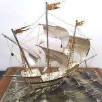 純銀製ヨット3