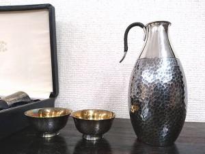 純銀酒器2