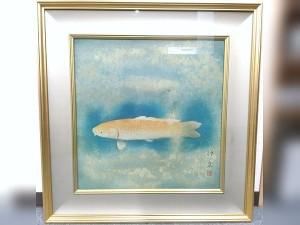徳岡神泉 鯉