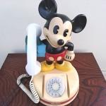 アンティークミッキー電話機2