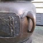 宣徳銅 瓶掛火鉢3