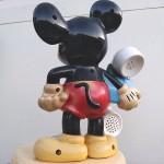 アンティークミッキー電話機3