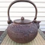 亀文堂鉄瓶2