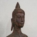クメール木彫り仏3