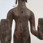 クメール木彫り仏7