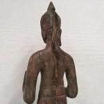 クメール木彫り仏4