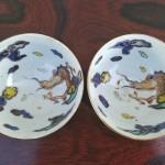 大明成化年製銘 煎茶碗2