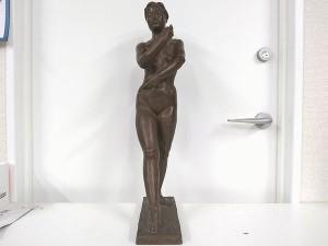 進藤武松 ブロンズ裸婦像