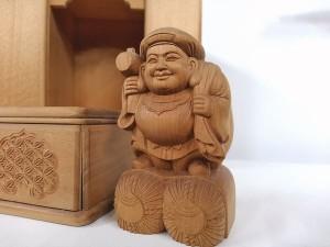 木彫り 大黒天3