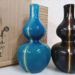 永楽善五郎(即全)瓢酒瓶2