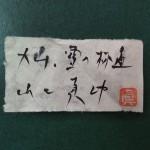 山口真功 大山・雪の林道6