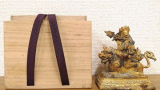 チベット金銅毘沙門天(クベール)像 明代