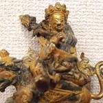 チベット金銅毘沙門天(クベール)像 明代3