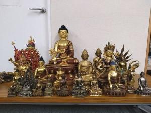 チベット 金銅仏