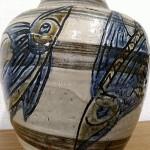金城次郎 魚文花瓶3
