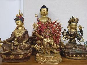 チベット 金銅仏5