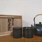 玉川堂 銅製茶器揃