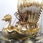 銀製宝船3