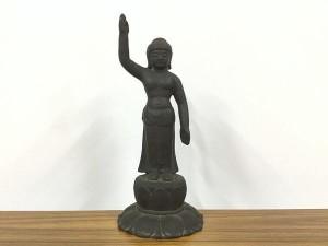 古銅製 釈迦誕生仏
