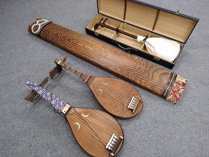 和楽器 琴・三味線・琵琶