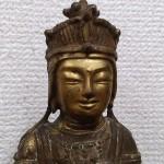 金銅仏 観音菩薩坐像3