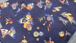 柚木沙弥郎 型絵染め帯