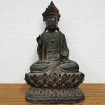古銅観音菩薩坐像