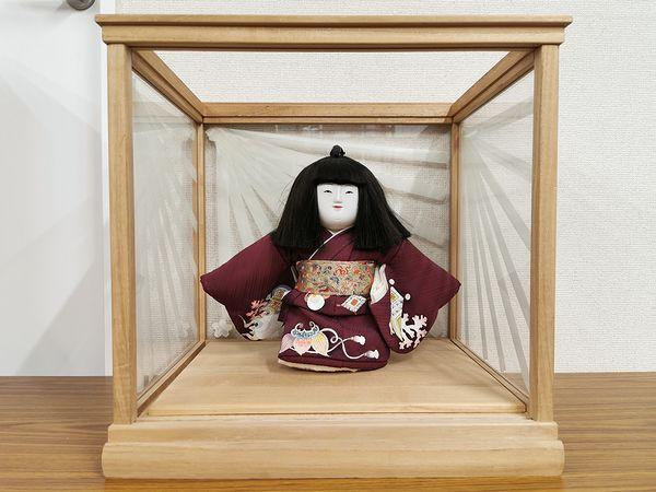 伊東久重 木彫り 御所人形