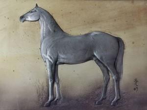 石川光明 馬彫金額2