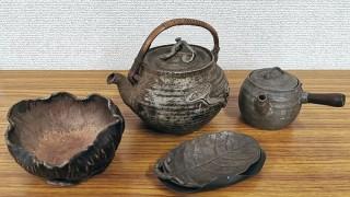 錫製 煎茶道具