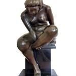 高田博厚 ブロンズ裸婦像