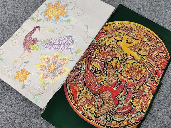 龍村平蔵製 本袋帯 二点