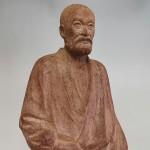 長谷川栄 木彫り  「乃木大将像」3