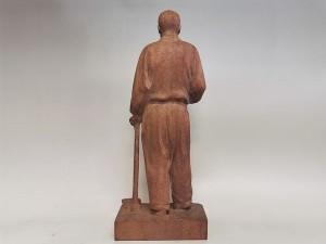長谷川栄 木彫り  「乃木大将像」2