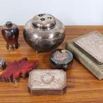 銀製品 香炉 ボンボニエール