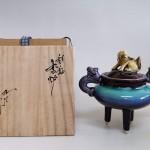 徳田正彦 彩釉香炉