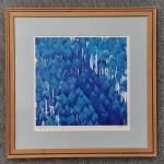 東山魁夷 リトグラフ 青い峡