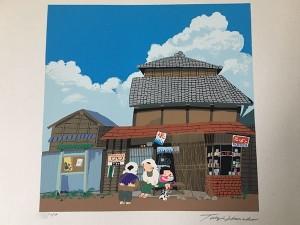 原田泰治 木版画3