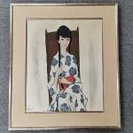 高沢圭一 油彩 亜子(娘)の肖像