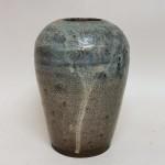 葛明祥造 海鼠釉 花瓶