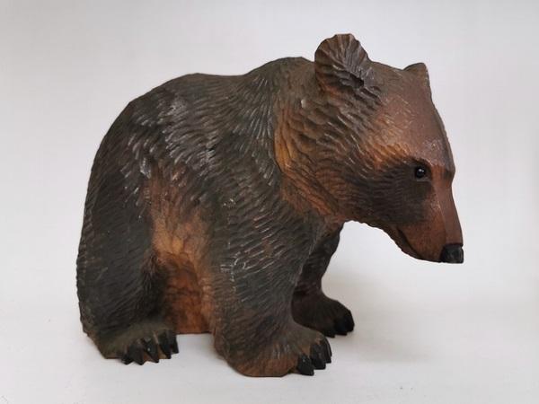 八雲作家 柴崎重行 木彫り熊