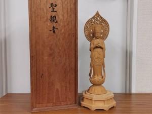 宮竹一清 聖観音菩薩立像